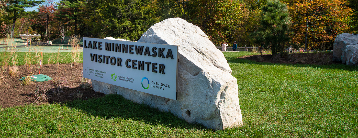 The Lake Minnewaska Visitor Center welcomes and guides visitors as they set out to explore the park.