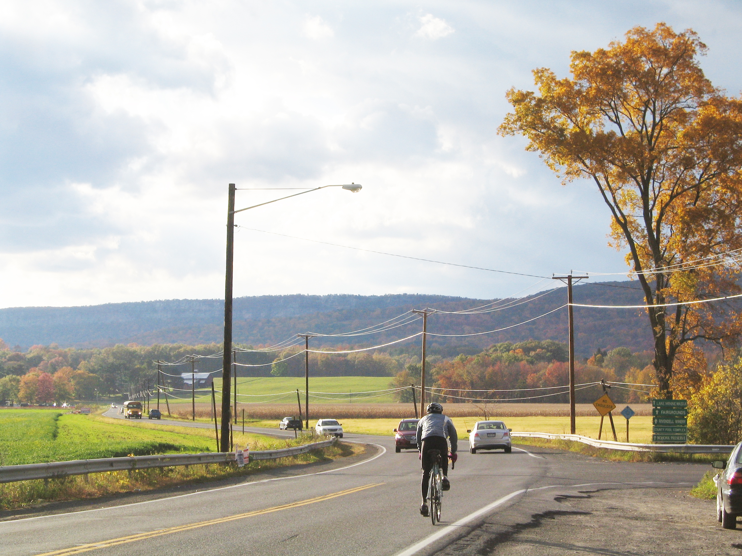 The River-to-Ridge Trail will allow pedestrians and cyclists to avoid traveling on the narrow shoulder of Rt. 299.