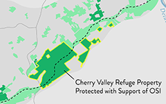 Cherry Valley NWR Property Protected with OSI's Support