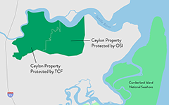 Ceylon Property Protected by OSI and The Conservation Fund