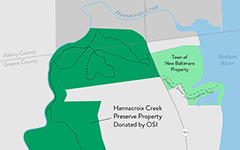 Hannacroix Creek Preserve Property Donated by OSI