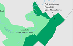 OSI Addition to Piney Falls State Natural Area