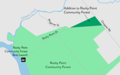 Addition to Rocky Point Community Forest