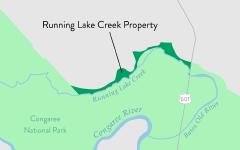 Running Lake Creek