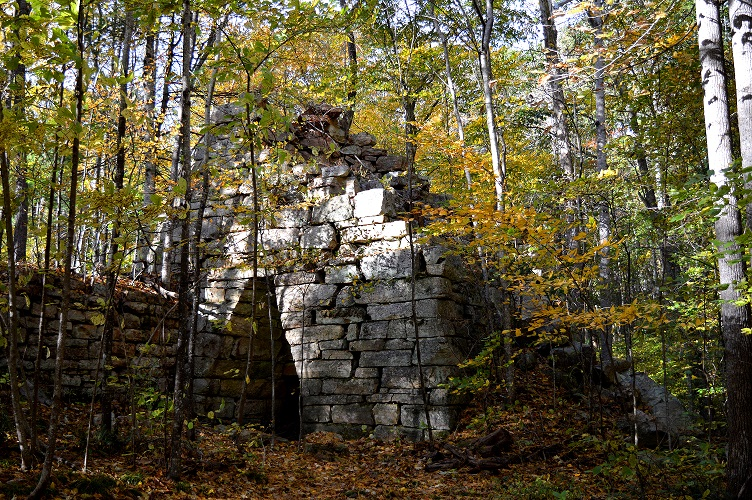 """The Grace Furnace, a coldblast charcoal furnace located on the property, is an historic """"pig iron"""" furnace that dates from the early 19th century, and likely supplied iron ore for munitions during the Civil War."""