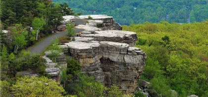 Beautifully restored Hamilton Point Carriage Road takes young and old to breathtaking vistas.