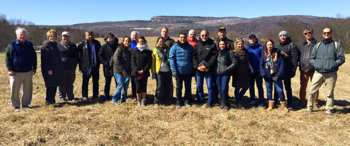 OSI Welcomes Delegation from Colombia to View Hudson Valley