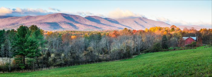 View of the Catskill Mountains