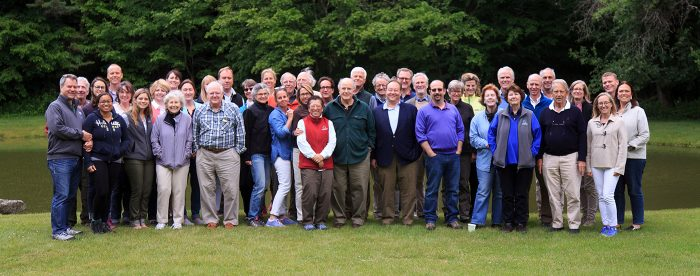 OSI Board and Staff in the Beaverkill 2016
