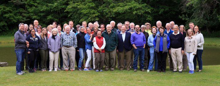 OSI Board and Staff in the Beaverkill 2016