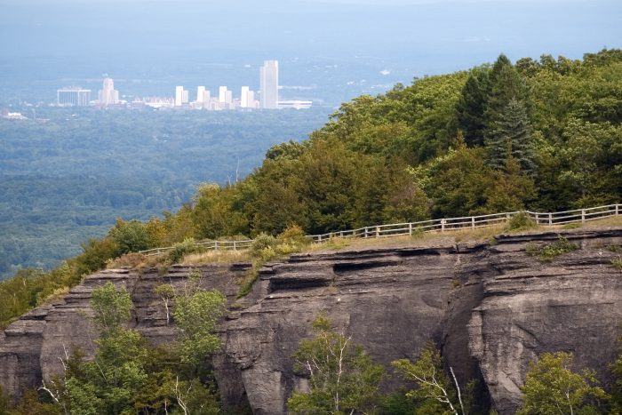 View of Albany from Thacher