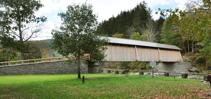 In 2017, OSI helped restore of the Beaverkill Covered Bridge.