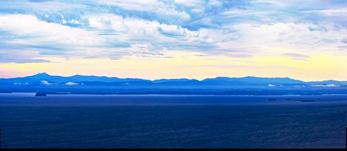 Views of Mount Trembleau and Lake Champlain protected in 2017.