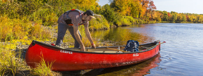 The acquisition improves recreational opportunities on the East Branch of the Penobscot for locals and visitors alike, and will enable creation of campsites, a welcome center, canoe launch sites and trails.