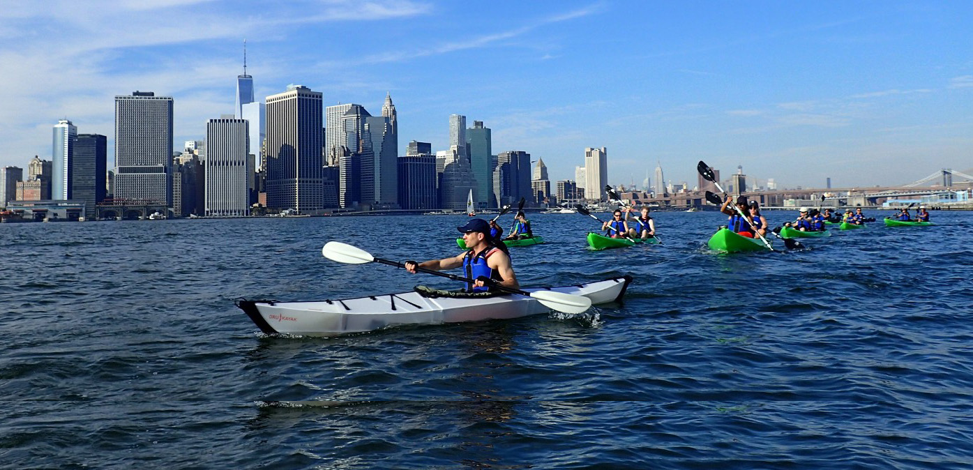 Kayak conservation at the forefront of protecting the waterfront.