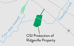 Ridgeville Property Protected by OSI