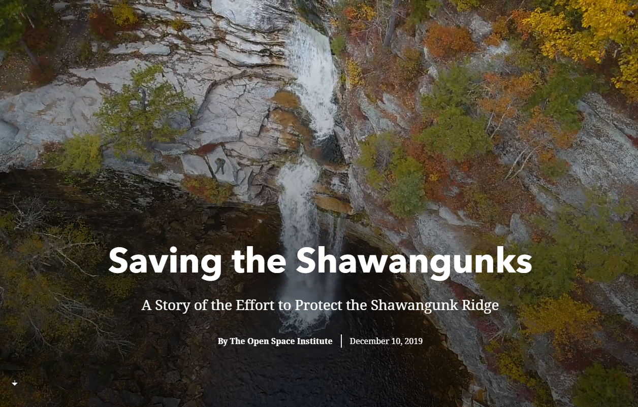 Every year more than 700,000 visitors come to enjoy the Shawangunk Ridge in southeastern New York.