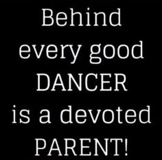 Parents of Dancers