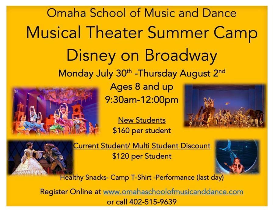 Musical Theater Summer Camp | Omaha School of Music and Dance
