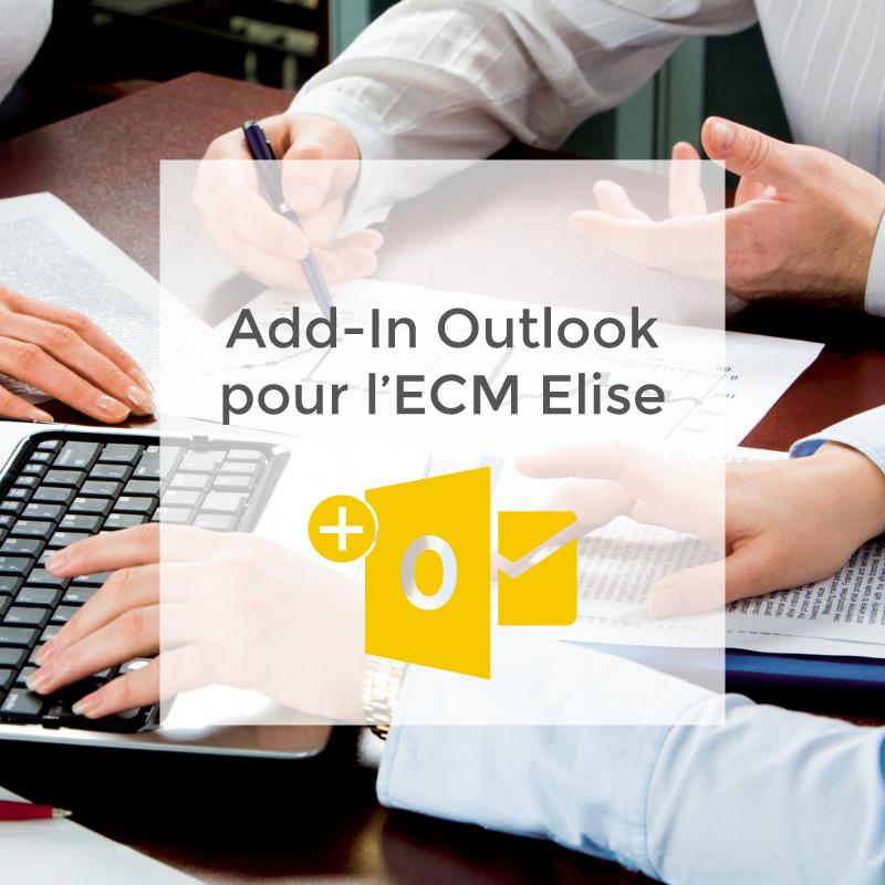 Add-In Outlook pour l'ECM Elise