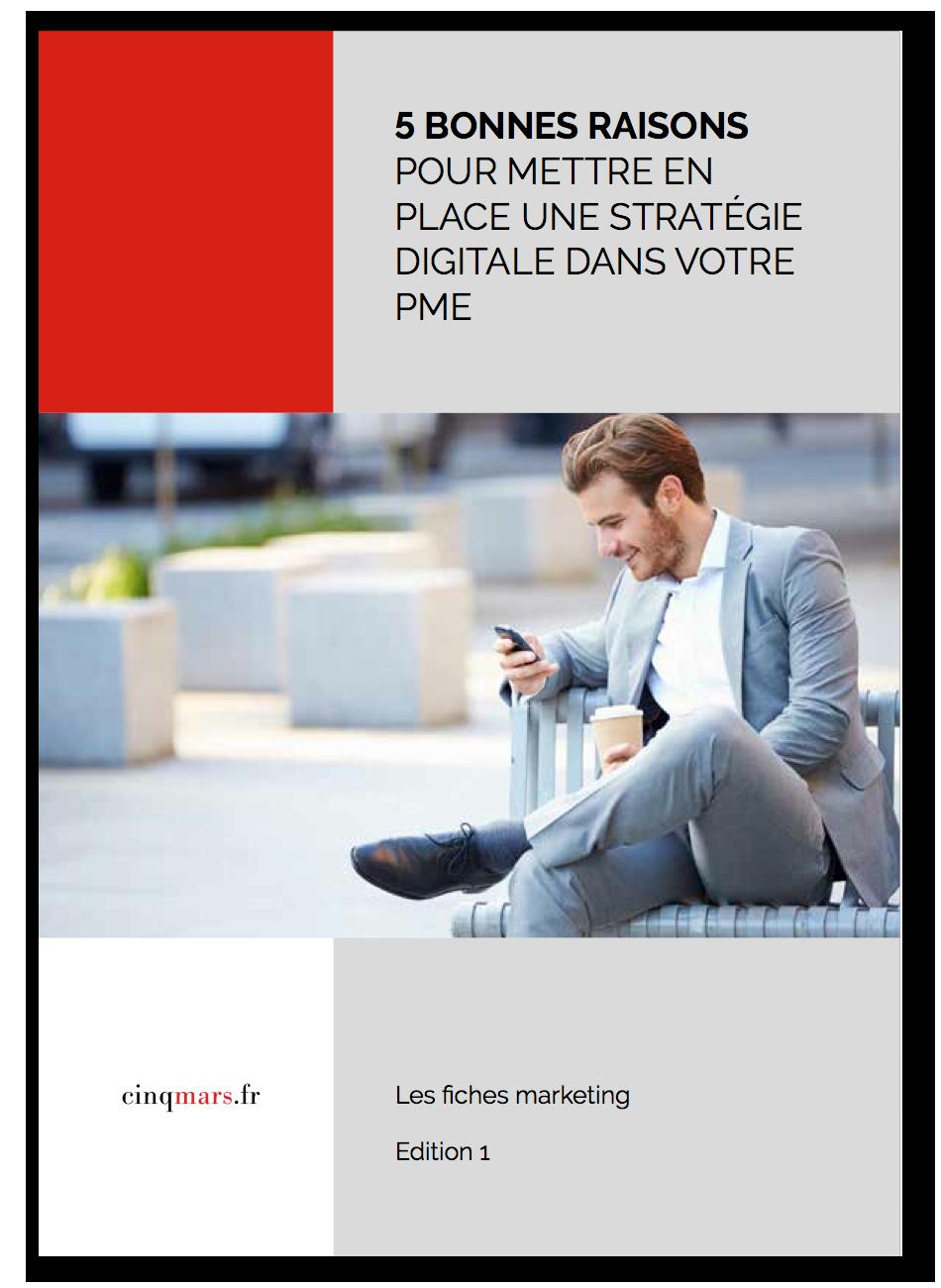 5 bonnes raisons de mettre en place une stratégie digitale dans votre PME