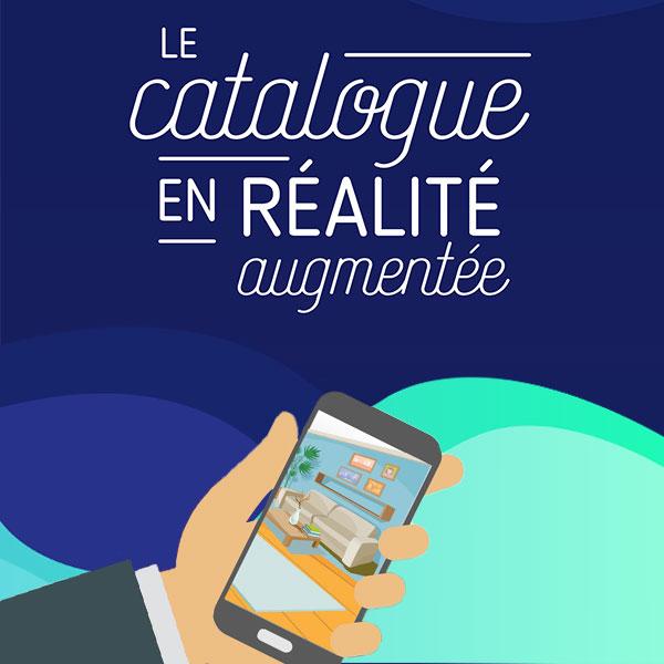 Infographie catalogue en réalité augmentée