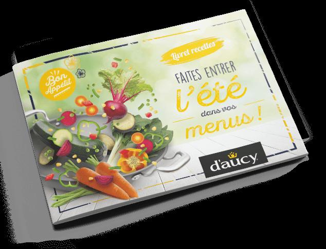 Livret recettes été - Légumes d'aucy