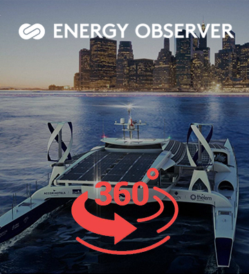 visite 360 de l'energy observer