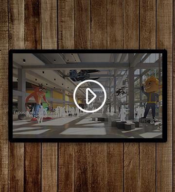 Vidéo parc en scène Linkcity