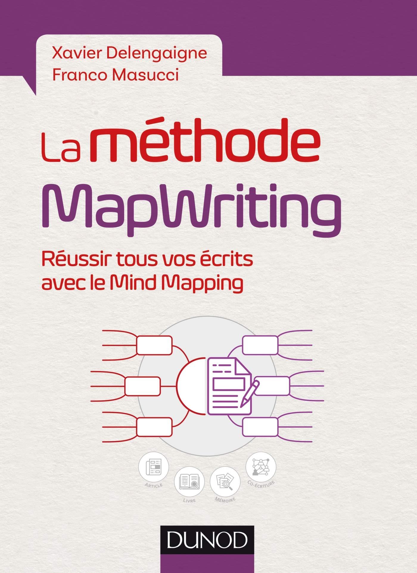 """Couverture livre """"La méthode MapWriting"""""""