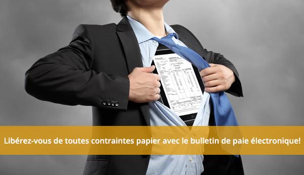 Bulletin de paie électronique