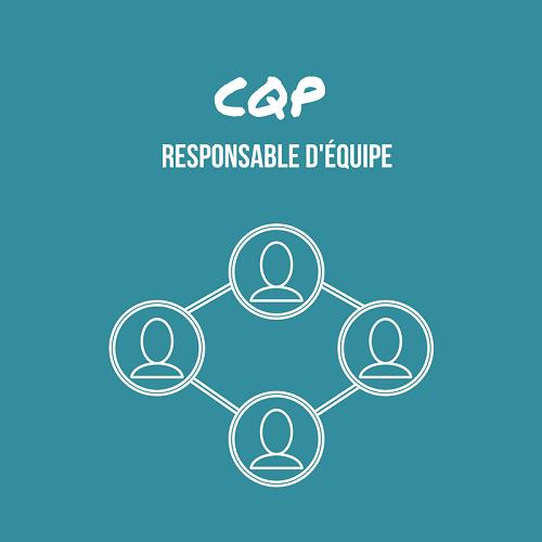 Présentation CQP Responsable d'équipe