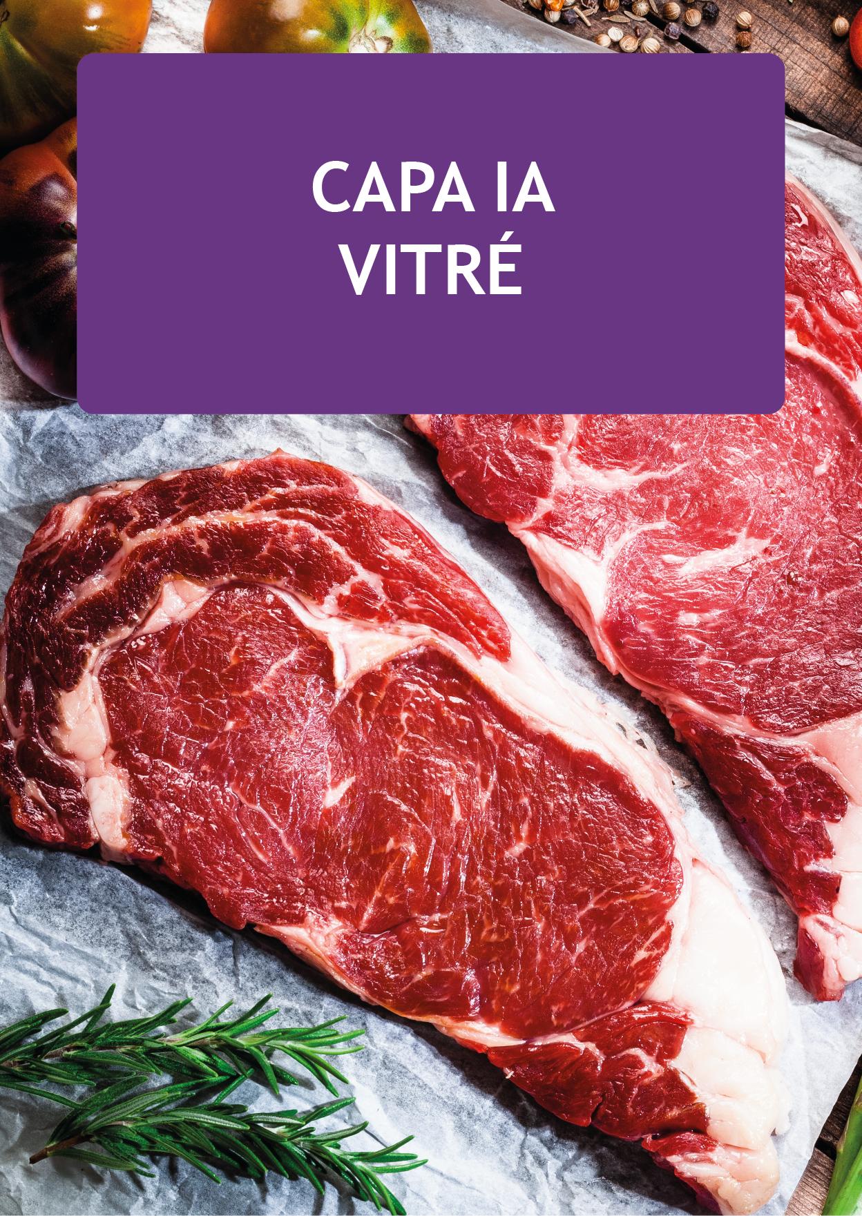 Plaquette CAPA opérateur en industries agroalimentaires 