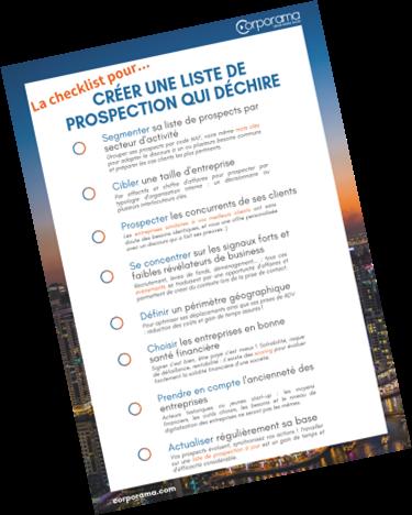 La checklist pour créer une liste de prospection qui déchire