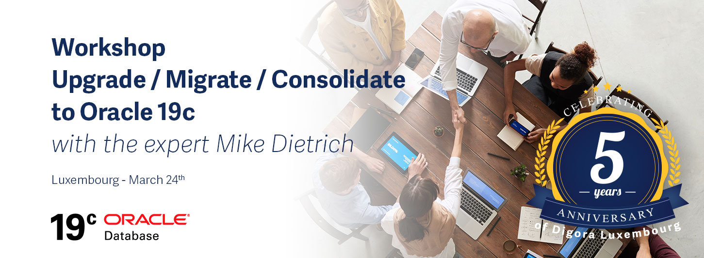Workshop Oracle 19c with Mike Dietrich