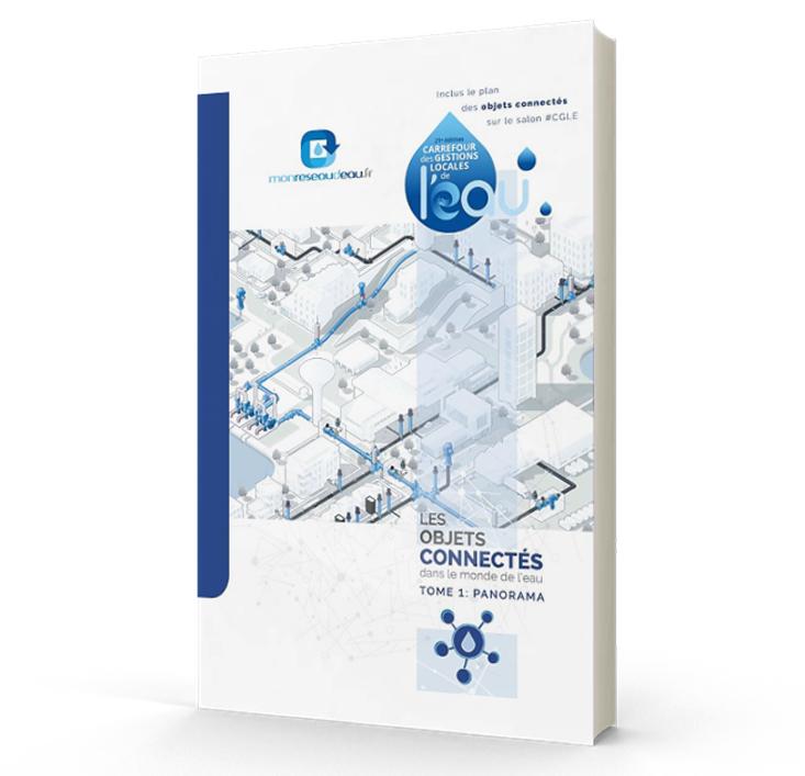 Couverture livre blanc : Les objets connectés dans le monde de l'eau