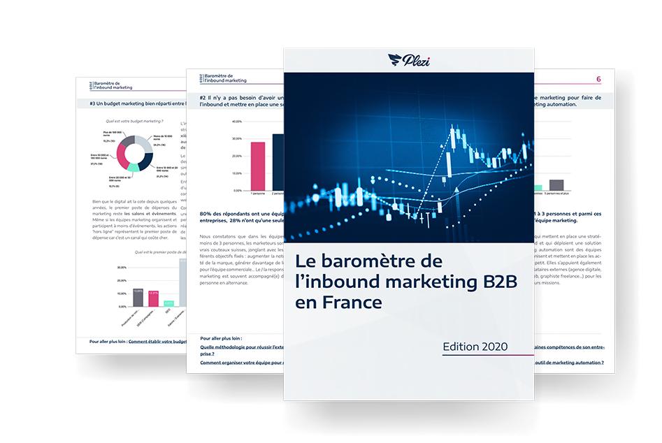 Baromètre inbound marketing B2B France