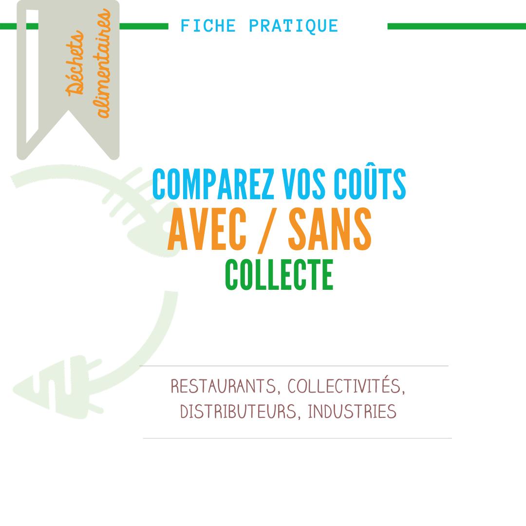 comparez coûts de compostage avec ou sans collecte