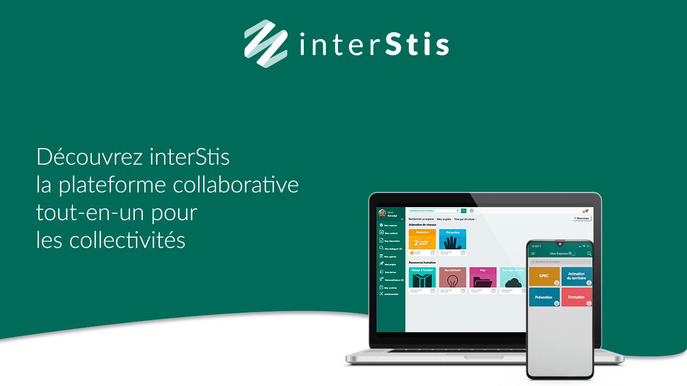 InterStis | la plateforme pour les usages numériques des collectivités