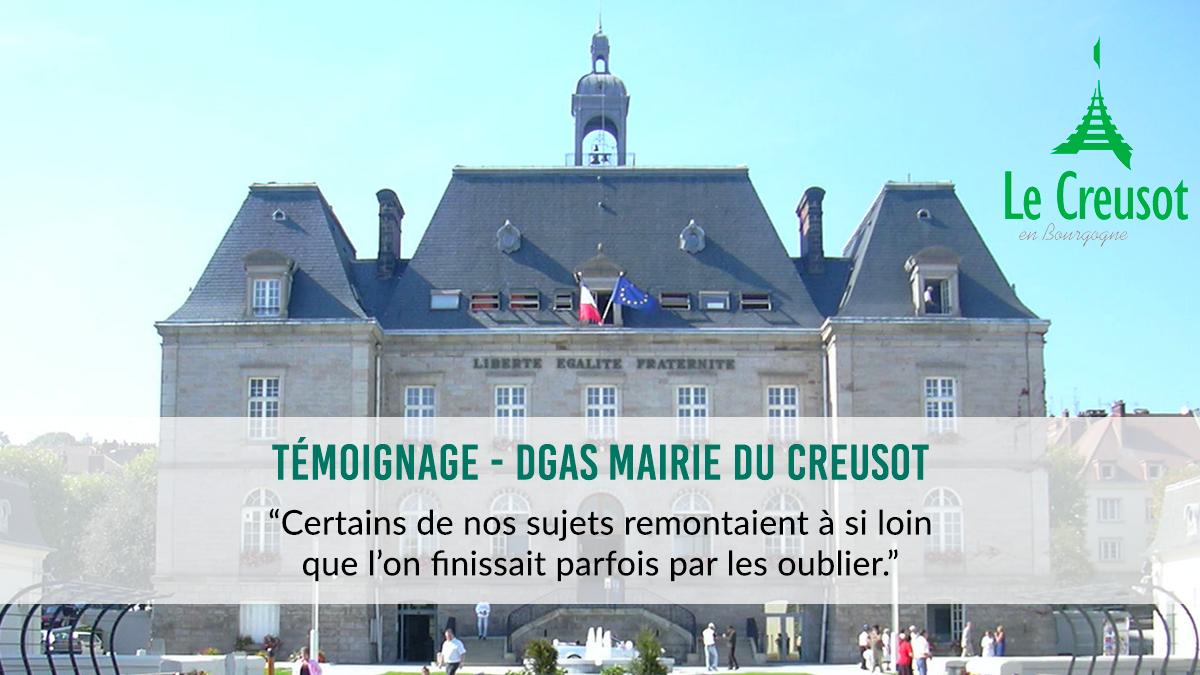 Projet cœur de ville : la mairie du Creusot utilise la plateforme collaborative interStis
