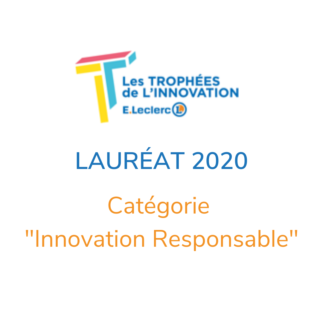 Upcycle Laureat 2020 Trophée Innovation Leclerc
