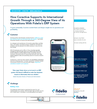 Fidelio ERP and Coractive Success Story