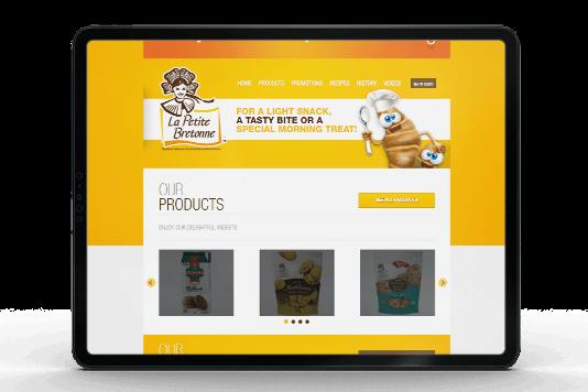 La Petite Bretonne Website