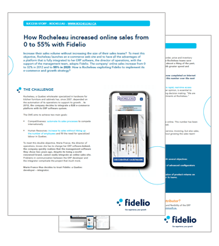 Fidelio ERP and Rocheleau Success Story