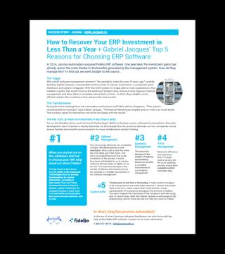 L'ERP Fidelio facilite l'intégration des nouvelles compagnies chez Ficodis