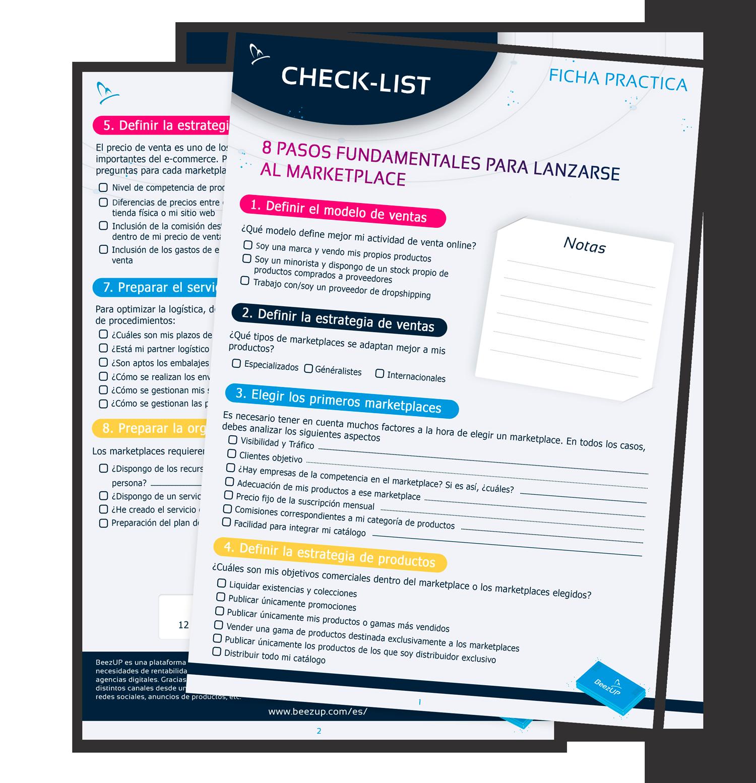 Checklist: 8 pasos a seguir para lanzarse al marketplace