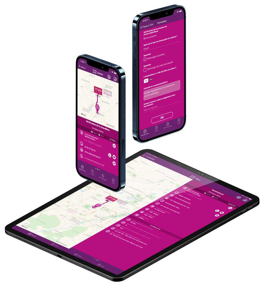 Extrabat Today est disponible sur smartphone et tablette
