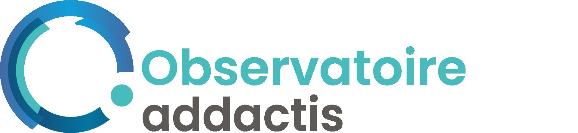 L'Observatoire addactis logo couleur