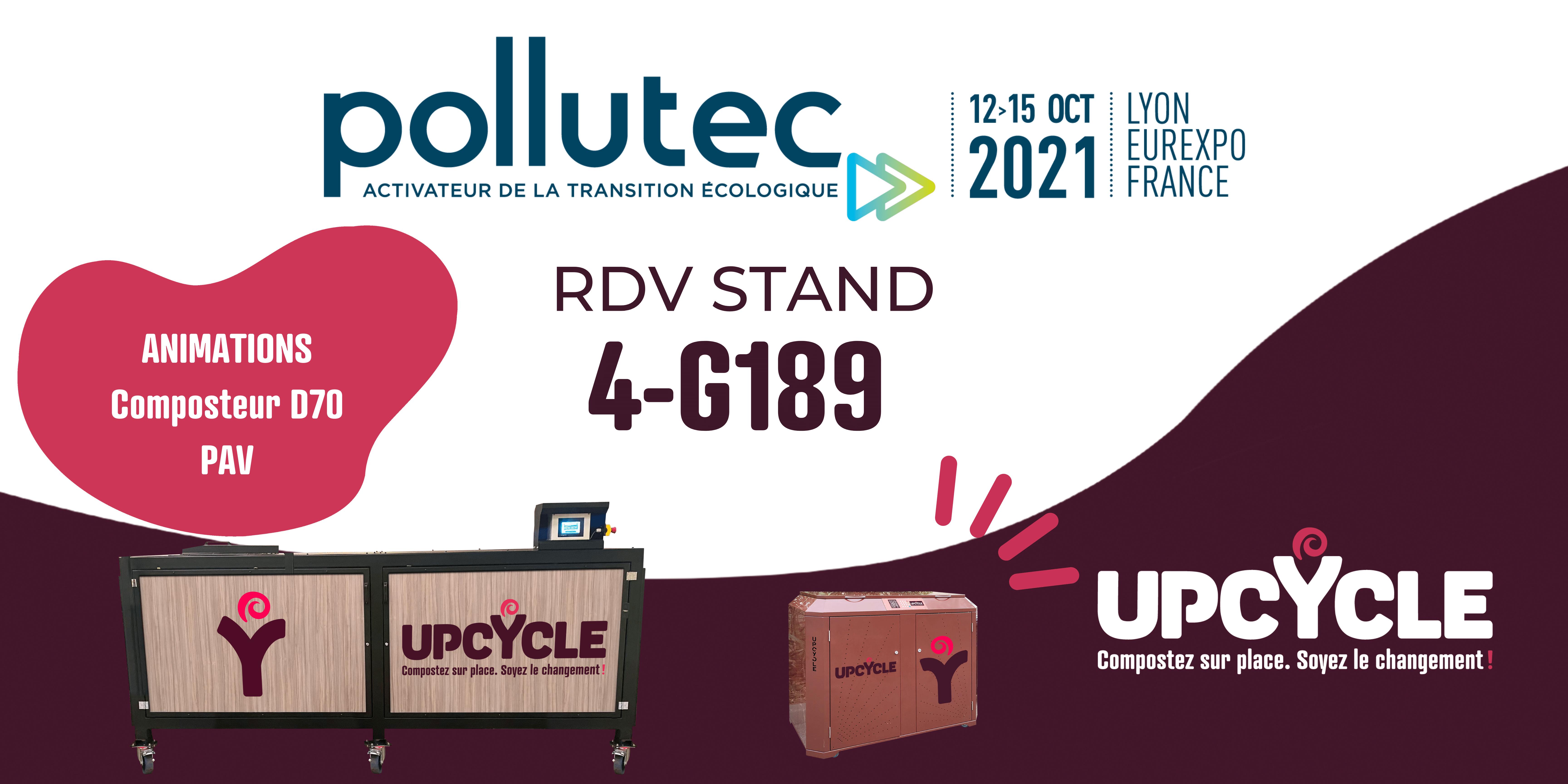 Pollutec 2021 | Upcycle animations composteur et point d'apport volontaire