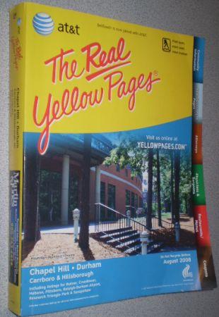 yellow pages chapel hill north carolina